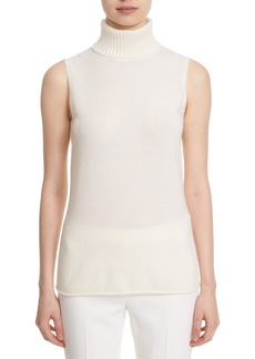 Lafayette 148 New York Turtleneck Cashmere Shell