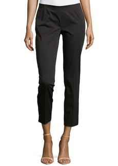 Lafayette 148 New York Twill Straight-Leg Pants