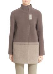 Lafayette 148 New York 'Valina' Wool Coat