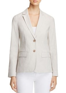 Lafayette 148 New York Vangie Linen-Blend Jacket