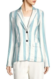Vangie Striped Blazer