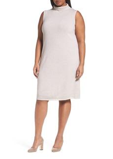 Lafayette 148 New York Vanise Merino Wool & Cashmere Sweater Dress (Plus Size)