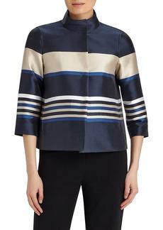 Lafayette 148 New York 'Vanna' Stripe Jacket