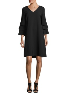 Lafayette 148 New York Velez Finesse Crepe Dress
