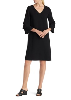 Lafayette 148 New York Velez Finesse Crepe Shift Dress