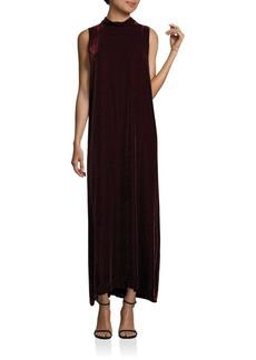 Lafayette 148 New York Velvet Ellen Maxi Dress