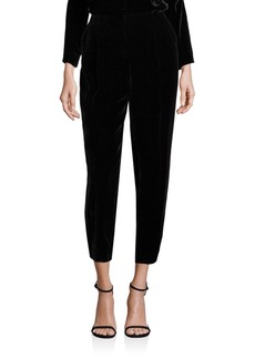 Lafayette 148 New York Velvet Rivington Ankle Pants