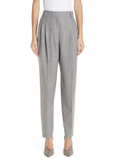 Lafayette 148 New York Vestry Pleated Plaid Pants