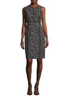 Lafayette 148 Vienna Patterned Sheath Dress