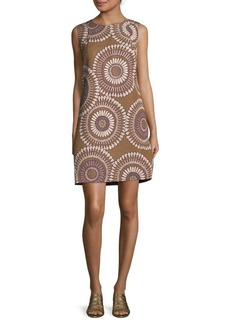 Lafayette 148 Vilma Printed Shift Dress