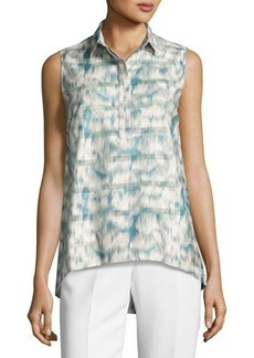 Lafayette 148 New York Vinda Sleeveless Blouse
