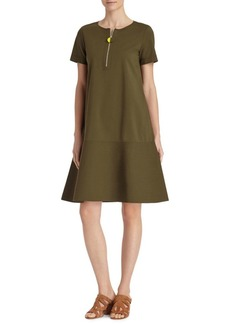 Lafayette 148 Vinita Solid Flared Dress