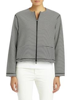 Lafayette 148 New York Vivienne Stripe Jacket