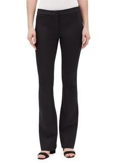 Lafayette 148 New York Waldorf Flare-Leg Secco Stretch Pants