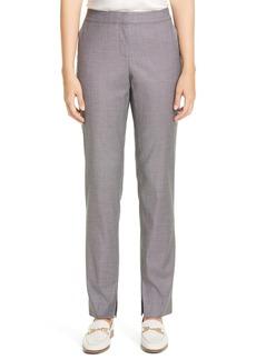 Lafayette 148 New York Waldorf Slit Hem Slim Pants