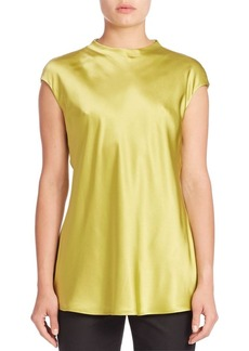 Lafayette 148 New York Water Washed Silk Gene Blouse