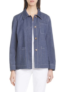 Lafayette 148 New York Wellesley Chore Jacket