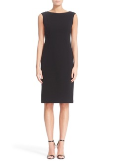 Lafayette 148 New York Welma Seamed Sheath Dress
