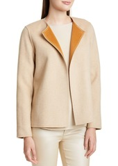 Lafayette 148 New York Westlynn Reversible Wool & Cashmere Jacket
