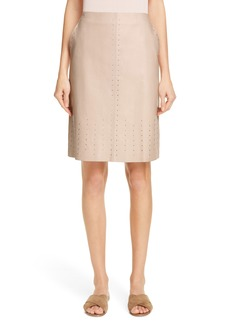 Lafayette 148 New York Whitley Studded Skirt