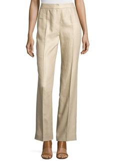 Lafayette 148 New York Wide-Leg Linen Pants