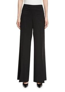Lafayette 148 New York Wide-Leg Side Zip Pants