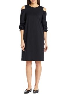 Lafayette 148 New York Willa Cold Shoulder Dress