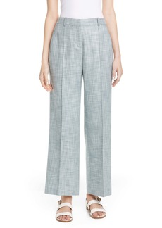 Lafayette 148 New York Winthrop Cotton, Wool & Silk Pants