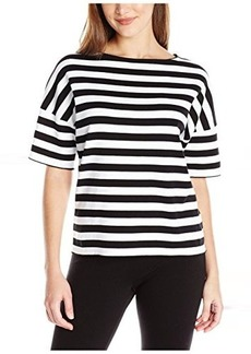 Lafayette 148 New York Women's Relaxed Stripe Sweater  P