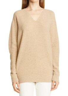 Lafayette 148 New York Wool & Cashmere V-Neck Sweater