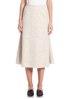 Lafayette 148 Wool Jersey Tulip Skirt
