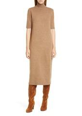 Lafayette 148 New York Wool & Cashmere Midi Sweater Dress