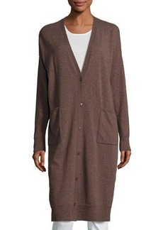 Lafayette 148 New York Wool Relaxed Duster Sweater