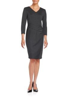 Lafayette 148 New York Wool Sheath Dress