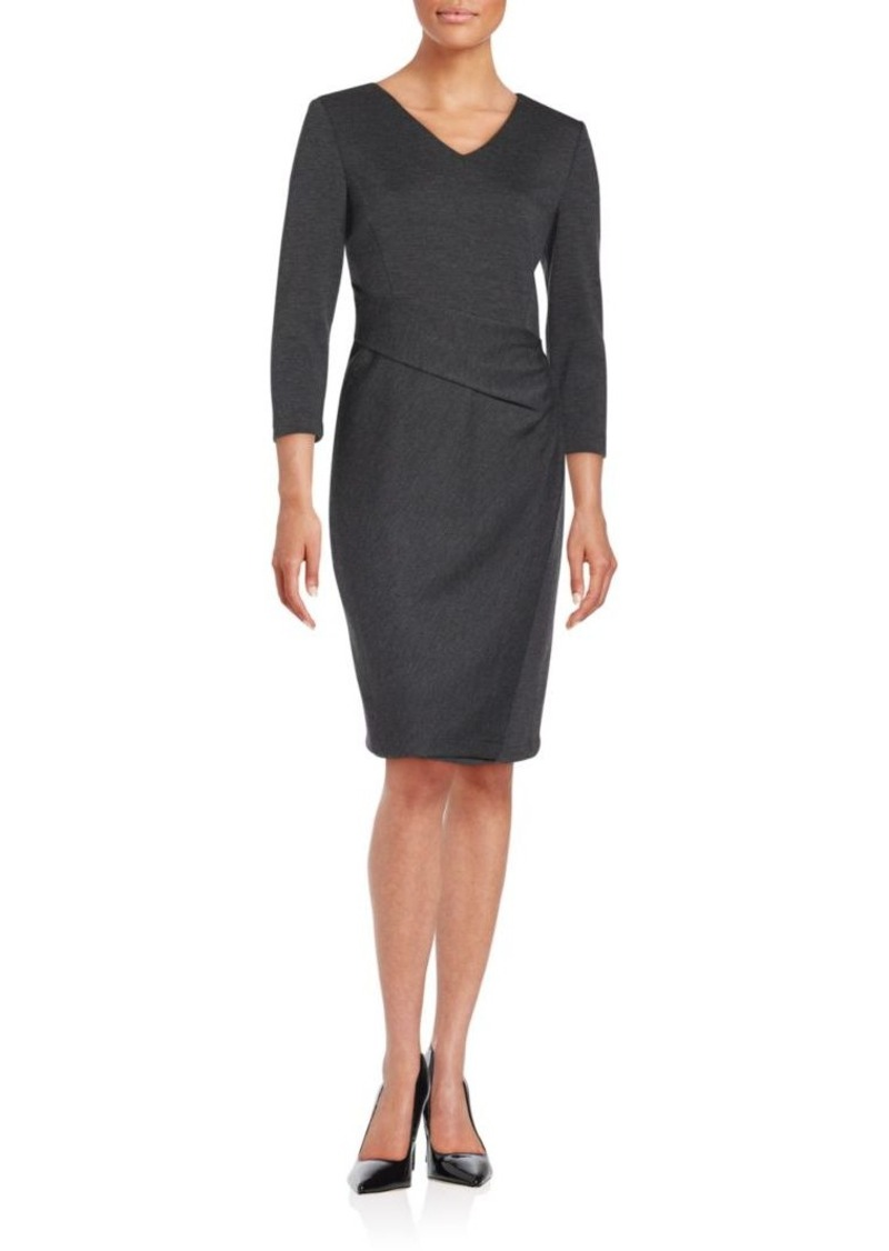 Lafayette 148 New York Wool Sheath Dress