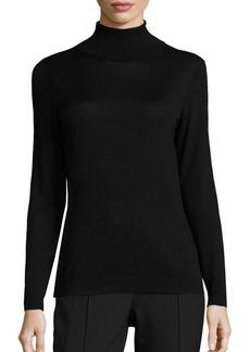 Lafayette 148 New York Wool Turtleneck Sweater