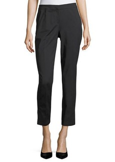 Lafayette 148 New York Wythe Fundamental Bi-Stretch Ankle Pants