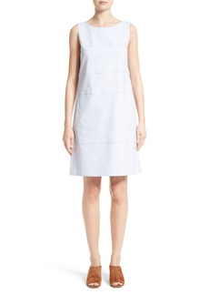 Lafayette 148 New York Xandria Stretch Canvas Dress