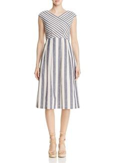 Lafayette 148 New York Ximena Striped Dress