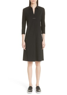 Lafayette 148 New York Zac Jersey Sleeve Dress