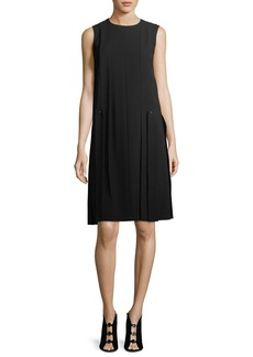 Lafayette 148 Zaida Sleeveless Finesse Crepe Dress