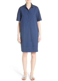 Lafayette 148 New York Zamira Cotton Blend Shirtdress