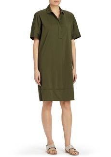 Lafayette 148 New York Zamira Stretch Cotton Shirtdress