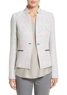 Lafayette 148 New York Zanna Metallic Knit Blazer