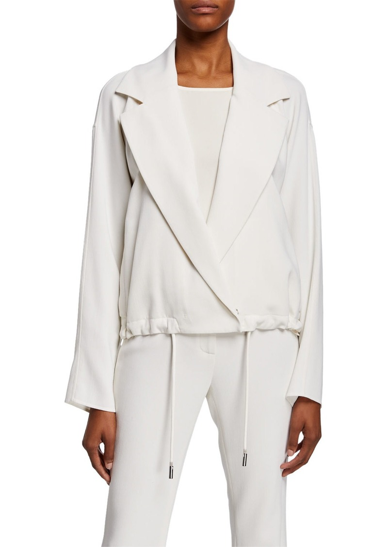 Lafayette 148 New York Zaylee Drawcord Topper Jacket