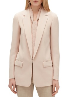 Lafayette 148 Langley Finesse Crepe Jacket