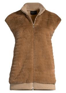 Lafayette 148 Larkin Fur Vest