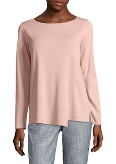 Lafayette 148 Layered Asymmetrical Sweater