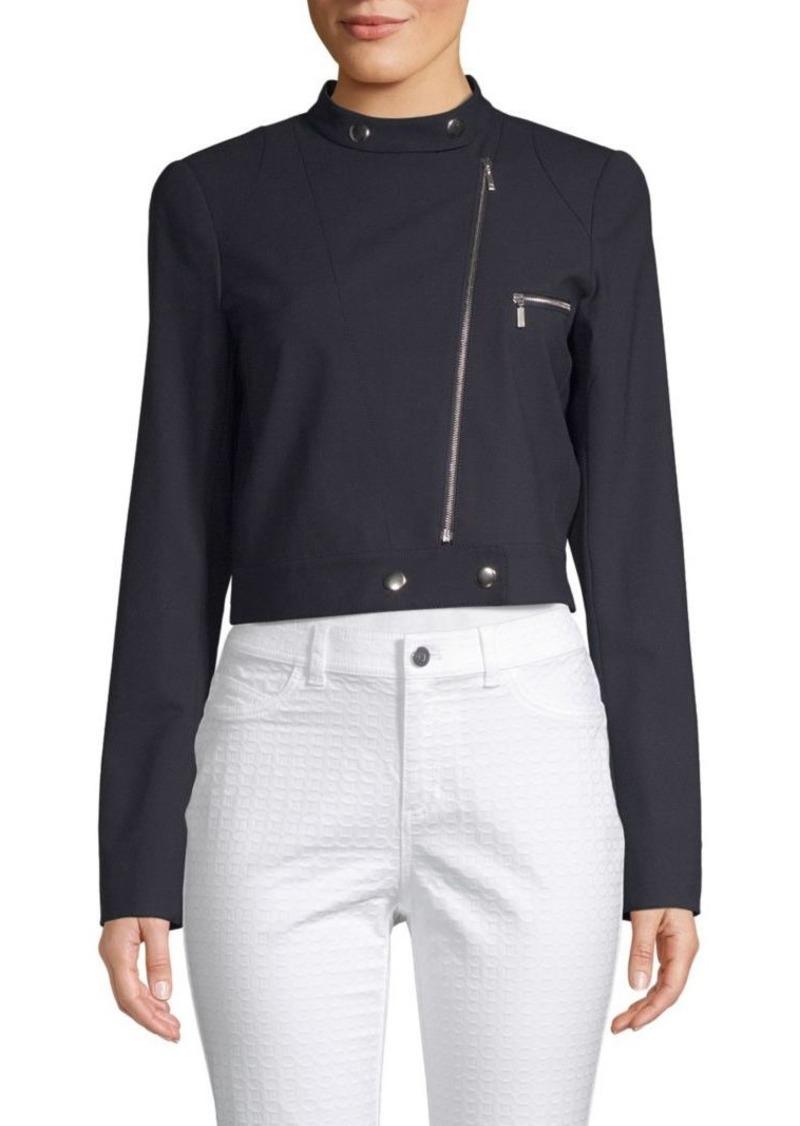 Lafayette 148 Lisette High Neck Jacket