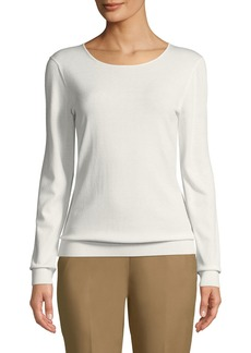 Lafayette 148 Long-Sleeve Jersey Top
